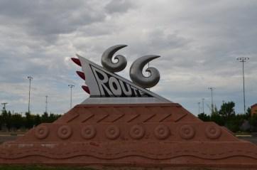 Interesting sculpture in Tucumcari.