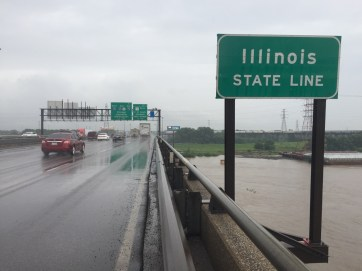 State number eight, the Great State of Illinois, on our 21 day odyssey.