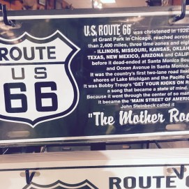 """A little bit of history about """"The Mother Road."""""""