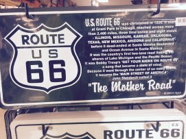 "A little bit of history about ""The Mother Road."""