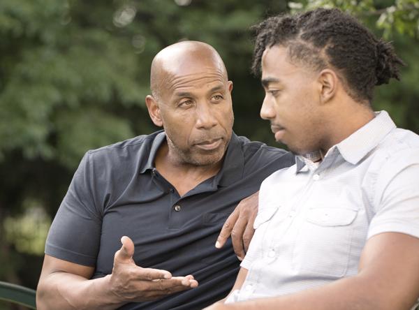 Mentor Dad and Mentee Dad