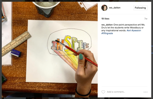 Building Community With Class Instagram Accounts