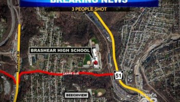 Shooting near Pittsburgh high school reveals 'active shooter drills' in region