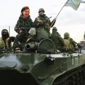 Nuland's Army: Government Tanks Driving Drunk Through Eastern Ukraine
