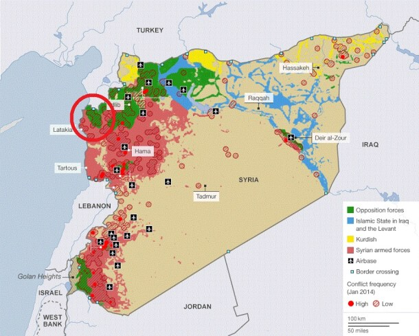 Syria-Map-ISIS
