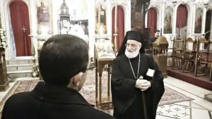 Greek Melkite Patriarch Gregoriuss III Laham.