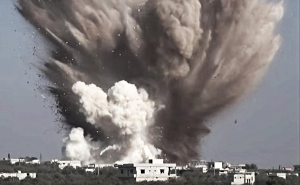 kafarya explosion