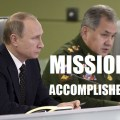 BREAKING: Putin Orders Withdrawal of Russian Military from Syria, says 'Objectives Achieved'