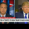 Trump Faces Off With CNN's Jake Tapper Over Event Fistacuffs
