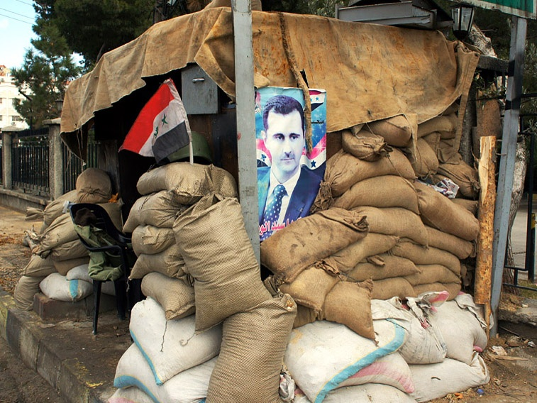 Assad and army