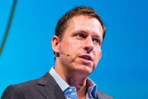 "Peter Thiel, venture capitalist. ""There is no plan."" (Source: Wikicommons)"