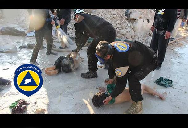 1 White Helmets OPCW fake