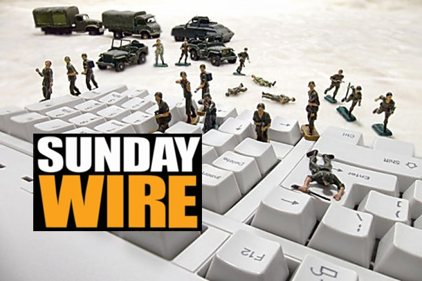 Episode #198 - SUNDAY WIRE: 'Hybrid War in America' with Andy Nowicki, Randy J, Basil Valentine and Guests