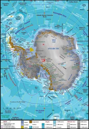 Expedici vědců z Kolumbijské univerzity a Rensselaerského Polytechnického institutu ve státě New York, se podařilo přesně zmapovat obrovité sladkovodní jezero, rozkládající se pod kontinentálním ledovým plátem v Antarktidě. Vědcům se podařilo díky moderní radarové a laserové technice dokázat, že jezero o velikosti blížící se rozloze severoamerického jezera Ontario, známé jako Lake Vostok je rozděleno na dvě části, žijící autonomním životem. Jezero leží pod 3 700 – 4 300 metrů silnou vrstvou ledu. Podle výsledků průzkumu se ukázalo, že obě jezerní pánve se liší chemickým složením vody, mikrobiálním životem a dalšími charakteristikami.