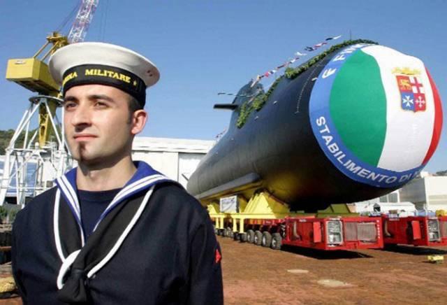 Palivové články jsou šancí pro konvenční plavidla. Koncem loňského roku byla spuštěna v italských loděnicích Fincantieri první italská ponorka s palivovým článkem, pojmenovaná Salvatore Todaro.
