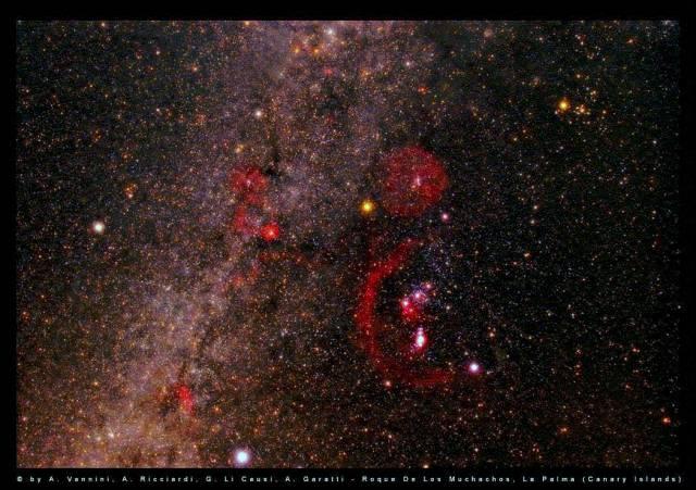 Ze Země lze vidět 70 tisíc trilionů hvězd. Pouhým okem vidíme z naší planety přibližně 6 000 hvězd.