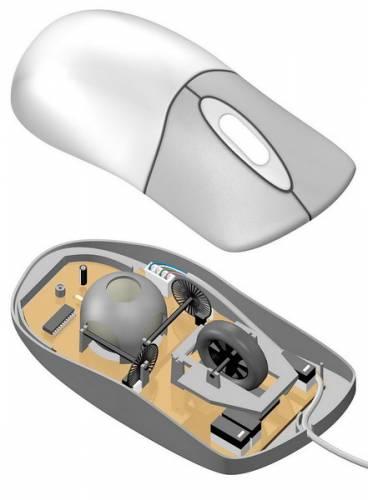 Myš se jako součást počítačů objevila poprvé u výrobků Apple Macintosh v roce 1984, i když její vývoj trval už od roku 1960.