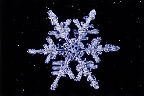Sněhové vločky se u nás obyčejně tvoří při teplotách od -1 do + 1°C. Jejich velikost stoupá úměrně s teplotou. Při nízkých teplotách padají jen drobné ledové krystalky.