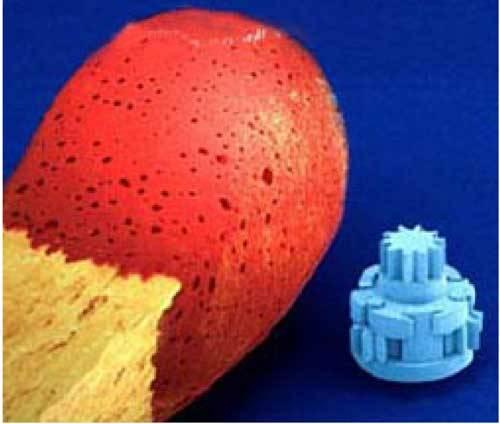 Zřejmě nejmenšího robota, který by mohl být v budoucnosti ještě výrazně zmenšen a který by s největší pravděpodobností mohl být využit pro i medicínské účely se podařilo vyvinout vědcům ve švédském Royal Institute of Technology.