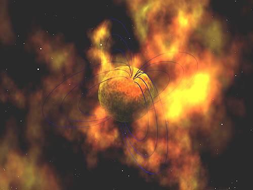 Mezinárodní tým astronomů nyní odhalil tajemství vzniku tzv. magnetar, hvězd s nepředstavitelně silným magnetickým polem.