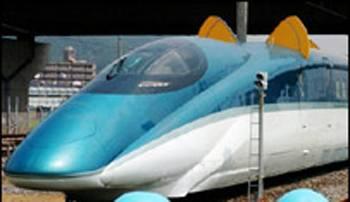 Japonci v posledních dnech na severu země testují nejnovější verzi rychlovlaku Šinkansen. V současnosti jde o nejrychlejší vlak na světě.