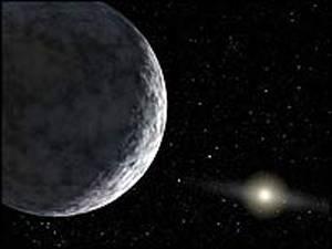 Naše sluneční soustava je nyní zřejmě bohatší o jednu planetu, která se nachází asi 15 miliard kilometrů od Slunce, a je tudíž nejvzdálenějším objektem, jenž kolem něho obíhá.
