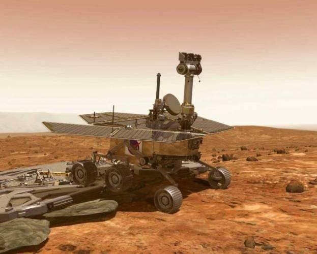 Astronomům se podařilo rozluštit záhadu původu ledovců na Marsu.