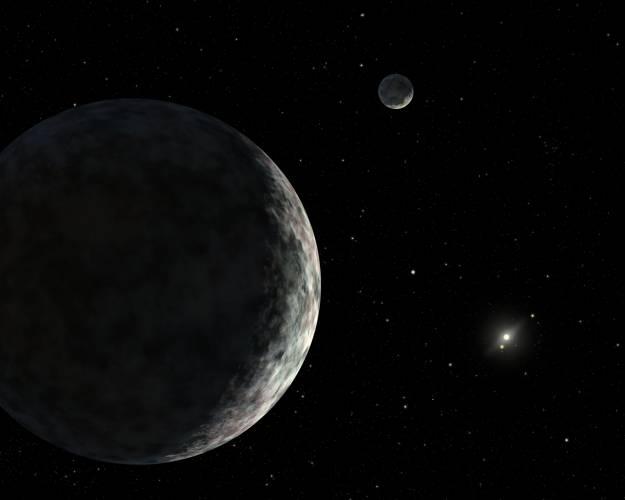 Ačkoliv se stále ještě vedou spory, zda těleso UB313 lze označit za desátou planetu sluneční soustavy, astronomové zatím alespoň upřesnili jeho míry.
