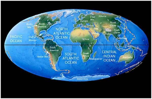 Jen těžko lze se stoprocentní jistotou odhadovat, jak bude vypadat rozložení kontinentů na Zemi ve vzdálené budoucnosti.
