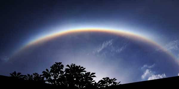 Pravděpodobně všichni již viděli nádhernou duhu, někdy i dvojitou, klenoucí se na obloze po dešťové přeháňce, když vysvitlo Slunce. Kromě duhy však existují také další méně známé, ale stejně krásné  jevy, jako malé halo (kolo) okolo Slunce či Měsíce.