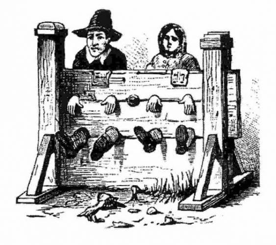 Život zločinců ve středověku nebyl rozhodně žádný med. Dopadení se ve valné většině rovnalo z dnešního pohledu neuvěřitelnému fyzickému utrpení a rychlá smrt bývala mnohdy vnímána jako milosrdný rozsudek.