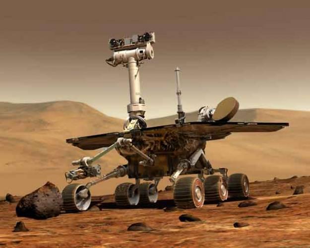 Pojízdný robot Spirit vyslal svůj první signál o svém pohybu na povrchu Marsu patnáctého ledna 2004 v přesně 09:21 středoevropského času. V řídícím středisku NASA v americkém Houstonu v tu chvíli propuklo nadšení. Více než půlroční cesta ze Země na Mars dopadla úspěšně.