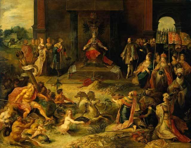 """""""Byla to doba, kdy Vasco Núňez Balboa vztyčil kastilský prapor na březích Darienského zálivu, Cortés v Mexiku a Pizarro v Peru, kdy v Evropě naprosto převládal španělský vliv a kdy žhavou obraznost obyvatel Ibérie okouzlovaly vidiny eldoráda, rytířských dobrodružství a světové říše. Tehdy se španělská svoboda vytratila za třeskotu zbraní, mizela pod přívalem zlata a v děsivé záři autodafé."""""""
