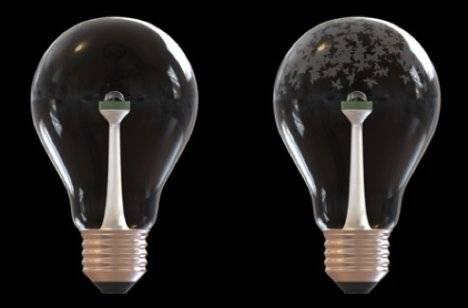 """Žárovky představují nejjednodušší typ zařízení, který dokáže přeměnit elektrickou energii na světlo. Stačí rozžhavit drátek z wolframu a světlo je na světě. V americkém Connecticutu vědci vyvíjejí žárovky, vlastně fotolumuiniscenční diody, které svítí i bez připojení k elektřině. Jejich """"drátky"""" tvoří vlákna DNA, kterou dodali lososi."""