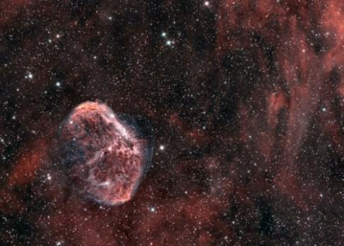 Astrofotografií měsíce je Srpek