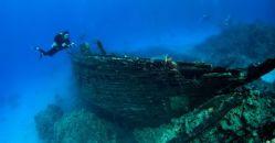 Starověký vrak u řeckého ostrova je zlatým dolem archeologů