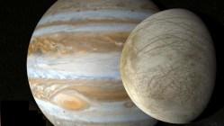 Ledové ostny na měsíci Europa