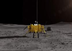 První přistání na odvrácené straně Měsíce