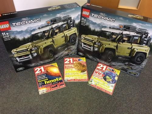 Vyhlášení vítězů SOUTĚŽE o Lego Land Rover Defender!