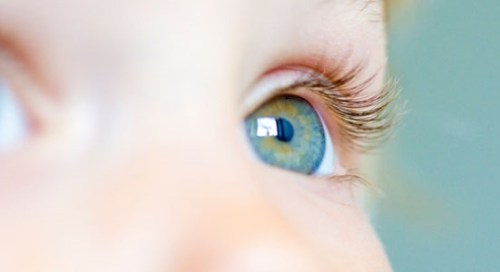 U dětí pozor na oči