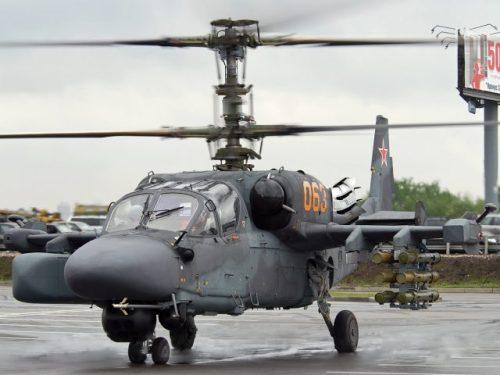 Ruské letectvo obdrží modernizované vrtulníky Kamov Ka-52M