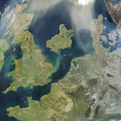 Získávání a datování jezerních sedimentů.