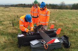 Dron monitoruje množství emisí ze skládek