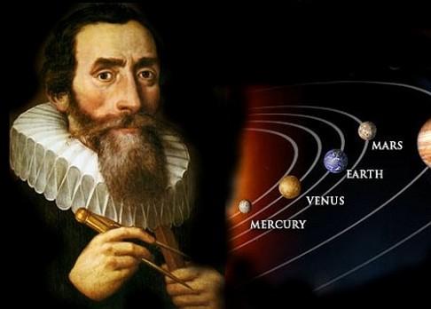 Dnes je 441. výročí narození Keplera