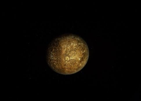 Merkur se zmenšil o 14 kilometrů