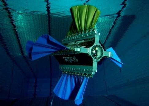Robotická sépie prozkoumá mořskou faunu
