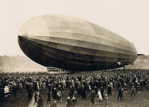 15. říjen 1928: Zeppelin přistává v USA