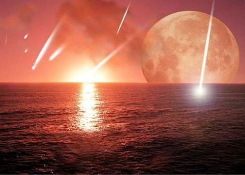 Asteroidy bombardovaly Zemi déle