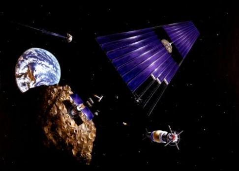 Miliardáři plánují těžbu na asteroidech