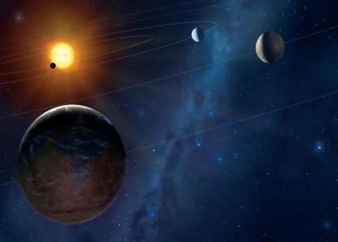 Planety umírajících hvězd a život
